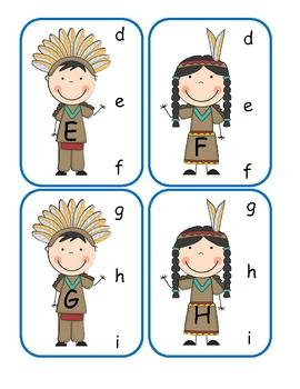 Native American clip card center