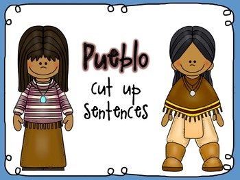 Native American cut up sentences (Pueblo)