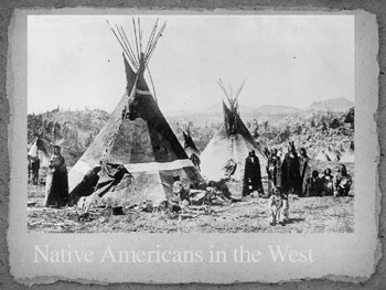 Native American on Plains PowerPoint
