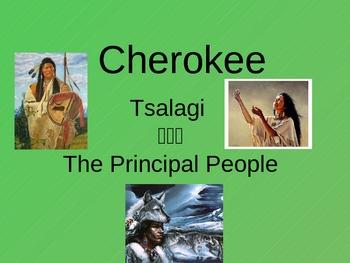 Native American ppt: Cherokee