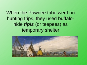 Native American ppt: Pawnee