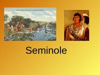 Native American ppt: Seminole