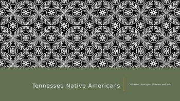 Native American:Tribes of Tennessee