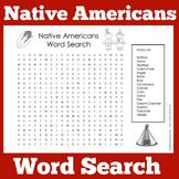 Native Americans Worksheet Activity