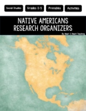 Native Americans Research Organizers for Poster Projects