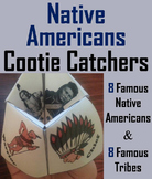 Native American Indians Activity/ Foldable Sacagawea, Iroquois, Sitting Bull etc