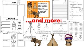 Native Americans Units- Lakota, Powhatan, Pueblo Bundle!