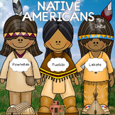 Native Americans Units- Lakota, Powhatan, Pueblo Bundle!