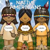 Native Americans Units- Lakota, Powhatan, Pueblo Bundle!  VA SOL 2.3