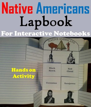Native American Unit Activity/ Foldable: Sacagawea, Iroquo