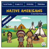 Native Americans PowerPoint -7 tribes - Hopi, Inuit, Pawnee, Seminole & more
