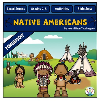 Native Americans PowerPoint -7 tribes - Hopi, Inuit, Pawne