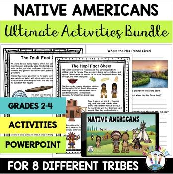 Native Americans Unit - Hopi, Seminole, Nez Perce, Pawnee,