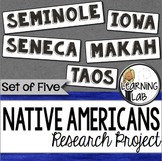 Native Americans Guided Research Project