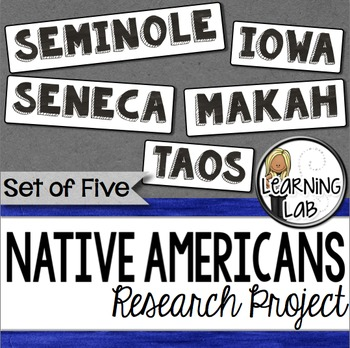 Native Americans Research Project
