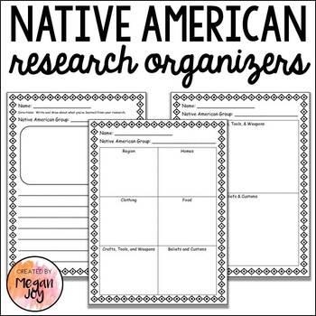 Native American Research Organizers