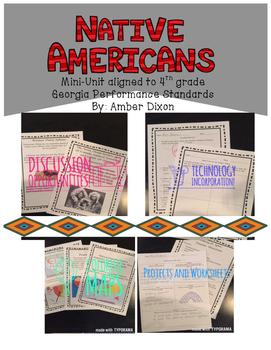 Native Americans 4th Grade Unit