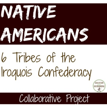 Native Americans 6 tribes of the Iroquois Confederacy Cooperative Mini-Project