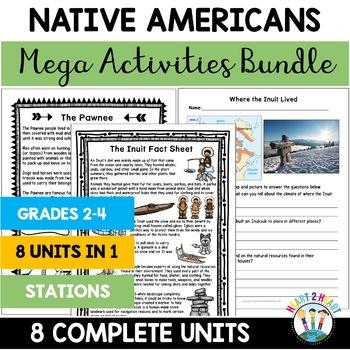 Native Americans Unit - Hopi, Inuit, Seminole, Kwakiutl, N