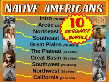 Native Americans (ALL 10 PARTS) visual, textual, engaging