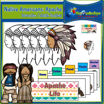 Native Americans: Apache - Interactive Foldable Booklet - EBOOK