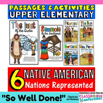 Native Americans Passages: Hopi, Inuit, Kwakiutl, Nez Perce, Seminole, Pawnee