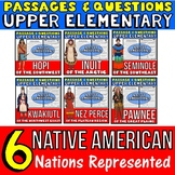 Native Americans Activities: Native Americans Passages wit