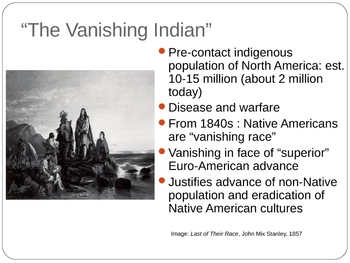 Native Americans Background Powerpoint 27 slides