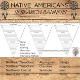 Native Americans Research Pennants