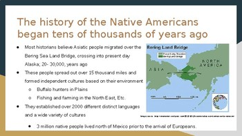 Native Americans Before Columbus Power Point