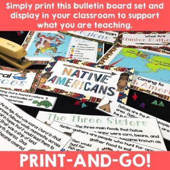 Native Americans:  Bulletin Board Set
