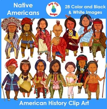 Native Americans Clip Art