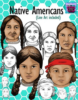 Realistic Native Americans Clipart - Realistic Image