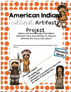 Native Americans Cultural Influence Project
