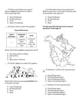 Native Americans: Desert Southwest, Northwest Coast, Arctic Test