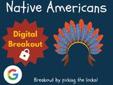 Native Americans - Digital Breakout! (Escape Room, Scavenger Hunt, Thanksgiving)