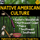 Native Americans Digital Interactive Research Project for Google Apps