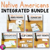 Native Americans & ELA Integrated Bundle: Reading, Writing & Social Studies