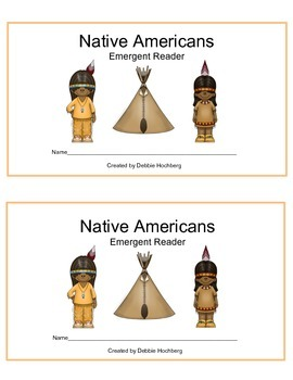 Native Americans--EMERGENT READER