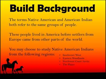 Native Americans - Early People Research Project