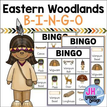 Native Americans: Eastern Woodlands BINGO