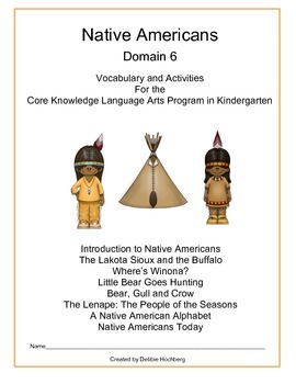 Native Americans--Engage NY-- Common Core--Kindergarten--Domain 6