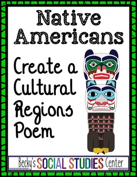Native Americans - Evidence-Based Poem About a Cultural Region