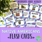 Native Americans Flash Cards
