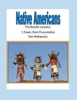 Native Americans Grades 4-7 The Bundle