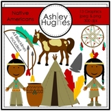 Native Americans Clipart {A Hughes Design}