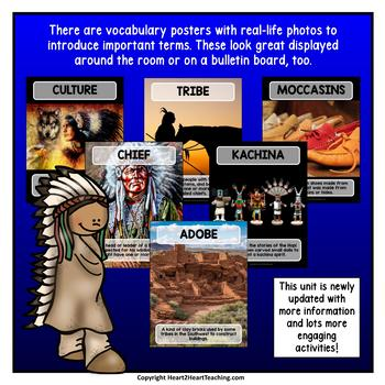 Native Americans - The Hopi  {Articles, Activities, Vocabulary, and Flip Book}