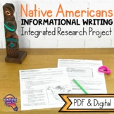 Native Americans: Informational Writing & Integrated Research Project
