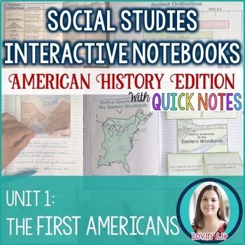 Native Americans Interactive Notebook