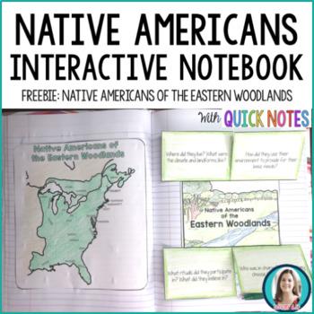 Native Americans Interactive Notebook Activity FREEBIE